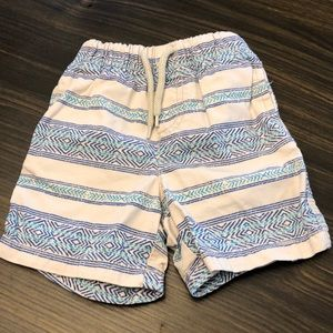 Tribal print Shorts Size 18 months